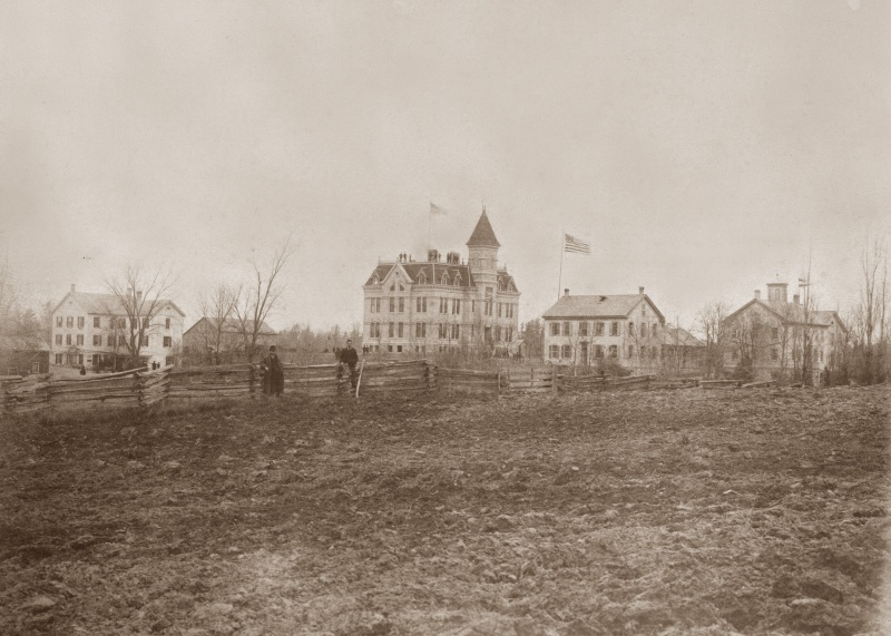 Old Main is dedicated November 14, 1888